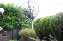 東京都内の住宅でオーストラリアのTVの受信工事