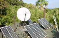 三宅島にて送信&受信設備の工事